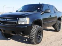 LIFTED!!!! BLACK ON BLACK!!!!. 4-Speed Automatic with