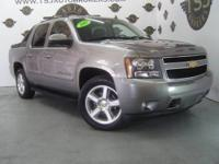 2007 CHEVROLET AVALANCHE LTZ 4X4 LEATHER MOONROOF SIDE