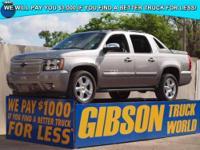 WWW.GIBSONTRUCKWORLD.COM*2007 Chevy Avalanche LT2