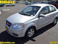 This 2007 Chevrolet Aveo LS is offered to you for sale