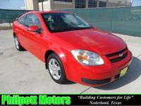 Options Included: N/A2007 Chevy Cobalt LT, red with