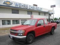 EXT 2WD GOOD MPG WEHRS CHEVY SINCE 1935 THANKS FOR YOUR