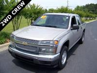 2007 CHEVROLET COLORADO CREW CAB 2WD LT in SILVER BIRCH