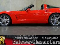 Stock #591-TPA 2007 Chevrolet Corvette  $19,995 Engine: