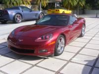 2007 Corvette coupe, immaculate condition, Burgundy