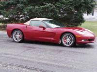 Options:  2007 Chevrolet Corvette|Maroon/|V8 6.0L