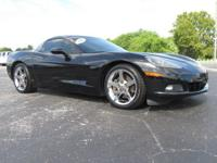 Black 2007 Chevrolet Corvette RWD 6-Speed 6.0L V8 SFI