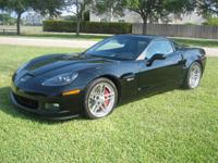 Corvette Z06, Black with Black 6 speed. 45,500 Miles