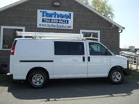 Options Included: N/AVery Clean Work Van....Racks and