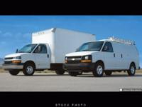 This 2007 Chevrolet Express Cargo Van RWD 2500 135 inch