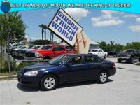 WWW.GIBSONTRUCKWORLD.COM * 2007 Chevy Impala LT * with
