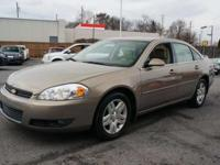 THIS 2007 CHEVROLET IMPALA LT IS EQUIPPED WITH ALLOY