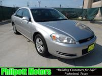 Options Included: N/A2007 Chevy Impala LS, silver with