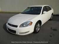Fully Inspected 2007 CHEVROLET IMPALA LS WHITE 3.5L
