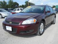 Options Included: N/A2007 Chevy Impala LT Maroon, 72400