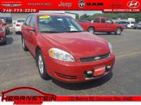 Clean AutoCheck, Alloy Wheels, CD Player, Impala LT,