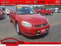 Clean AutoCheck, Alloy Wheels, CD Player, Impala LT,