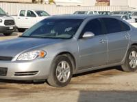 **2007 CHEVROLET IMPALA SEDAN, 3.5L gasoline,
