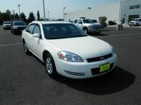 New In Stock. This White 2007 Chevrolet Impala is