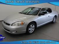 Come test drive this 2007 Chevrolet Monte Carlo! A