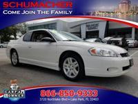 Options:  2007 Chevrolet Monte Carlo Lt   Content Theft