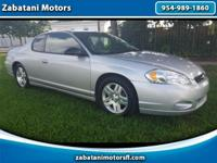 2007 Chevy Monte Carlo LT 3.5Sunroof Automatic
