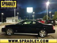 Black 2007 Chevrolet Monte Carlo SS FWD 4-Speed