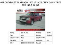 2007 Chevrolet Silverado1500Class Victory Red LS 4x4