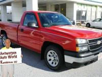 This Victory Red 2007 Chevrolet Silverado 1500 Classic