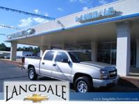 Options Included: N/AAt Langdale Chevrolet, we sell