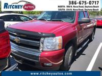 LOW MILEAGE 2007 CHEVY SILVERADO 1500 LT 4WD EXTENDED