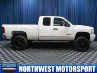 Clean Carfax 4x4 Lifted Truck with Steering Wheel Audio