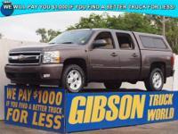 WWW.GIBSONTRUCKWORLD.COM*2007 Chevy Silverado 1500 LTZ