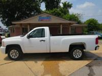 Silverado 1500 Standard Cab, Two Wheel Drive,