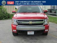 CERTIFIED 2007 Chevrolet Silverado 1500 Z71 Comes with