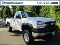 WOW!!! Check out this. 2007 Chevrolet Silverado 2500HD