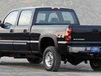 4D Crew Cab, Duramax 6.6L V8 Turbodiesel, Allison 1000