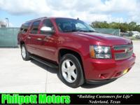 Options Included: N/A2007 Chevy Suburban, red with