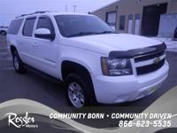 4 Wheel Drive!!!4X4!!!4WD... This White 2007 Chevrolet