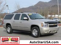 This 2007 Chevrolet Suburban LT will sell fast -4X4 4WD