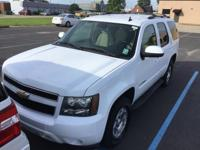 Summit White 2007 Chevrolet Tahoe LT LT1 RWD 4-Speed