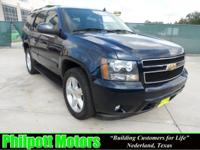 Options Included: N/A2007 Chevy Tahoe, blue with black