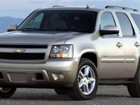 Flex Fuel! 4X4! This 2007 Tahoe is for Chevrolet nuts