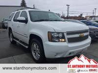 This Chevrolet Tahoe has a 5.3 liter 8 Cylinder Engine