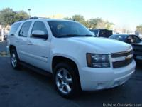 2007 CHEVROLET TAHOE LT 2WD 5.3L 8CYL ONE OWNER!*CLEAN