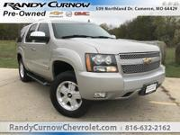 Options:  2007 Chevrolet Tahoe Lt|Silver Birch