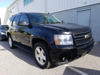 Black 2007 Chevrolet Tahoe LT 4WD 4-Speed Automatic