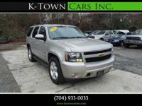 Options:  2007 Chevrolet Tahoe Lt Sport Utility