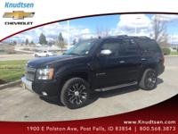 Options:  2007 Chevrolet Tahoe Lt|Black|Ebony W/Custom