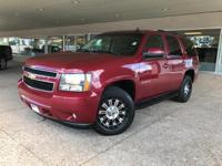 Sport Red Metallic 2007 Chevrolet Tahoe LT 4WD 4-Speed